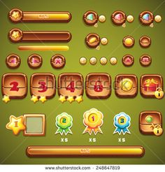 Buttons UI Stock Photos, Images, & Pictures | Shutterstock