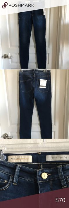 NWT Pilcro and the Letterpress Skinny Jeans Sz 25 Brand new with tags. Serif skinny jeans. No trades or PayPal. Anthropologie Jeans Skinny