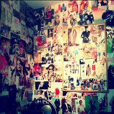 My bedroom wall <3