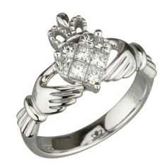 6. Claddagh ring because my other one is flattened.