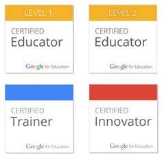 4 NEW Google Certifications! Plus a NEW Google Training Center! | www.ShakeUpLearning.com | #googleedu #gafe #edtech #edtechchat #ded318