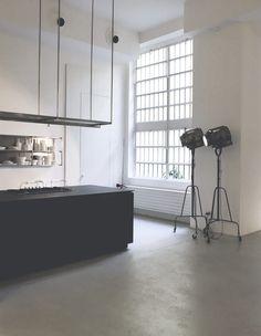 New post on martintgp Home Decor Kitchen, Kitchen Interior, Home Kitchens, Kitchen Dining, Pella Hedeby, Kiosk Design, Loft Style, Decorating Blogs, Design Files