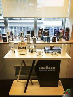 #Lavazza Training Center.  #Alitalia #coffee