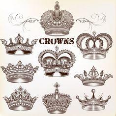 Gold und Silber Full Circle Diamond Crown Headwear Kinderkrone Kopfschmuck*L