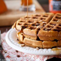 Pumpkin Ale Waffles