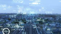 Transportation and technology concept. Background Powerpoint, Video Background, Futuristic Technology, Digital Technology, Technology Design, Ui System, Transportation Technology, Night Scenery, New Backgrounds