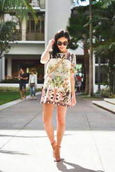 TENDENZE PRIMAVERA/ESTATE 2013 - FLOWER OUTFIT - outfit primavera estate 2013 blogger