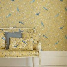 Shop our best selling wallpapers. Our popular designer wallpapers are the most stylish you can find. We ship across Canada & USA. Black Wallpaper Bedroom, Navy Wallpaper, New Wallpaper Iphone, Office Wallpaper, Bird Wallpaper, Wallpaper Online, Room Paint Colors, Paint Colors For Living Room, Bedroom Frames