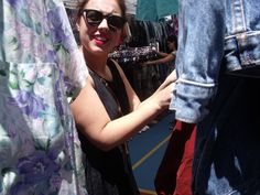 Jessie at Bondi Beach Market.