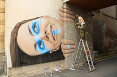 Incredible Wall Murals by James Bullough - UltraLinx