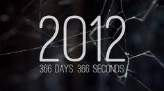 2012. 366 days. 366 seconds.