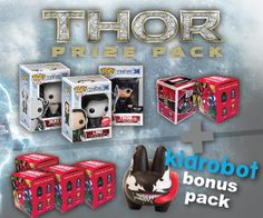 Thor: The Dark World Prize Pack Giveaway from @NerdFu