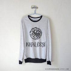 "Khaleesi Long Sleeve T-Shirt | Community Post: 21 Perfect Gifts For The ""Game Of…"