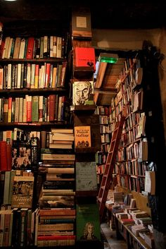 At the bookstore - Shakespeare and Company, Paris, France ...