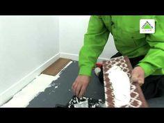Cómo colocar suelo cerámico imitación madera | Muy sencillo