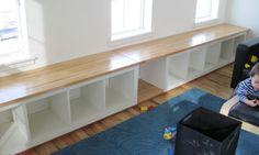 ikea window bench | Ikea Bench Hack