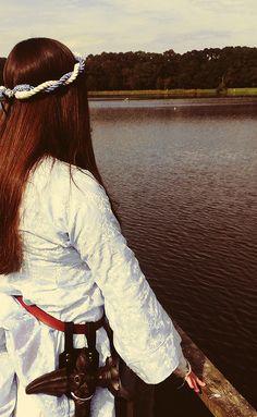 Espen the lady of Rantoft (3) by Larp Girl on Flickr.    Source : fuckyeahvikingsandcelts