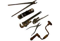 Antique Tools, Set of 6 on OneKingsLane.com