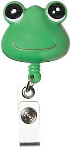 Frog ID Badge Holder