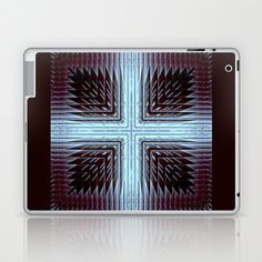 CenterViewSeries002 Laptop & iPad Skin by fracts - fractal art - $25.00