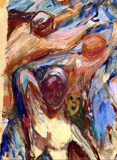 Edvard Munch - Naked Figures, 1927/29