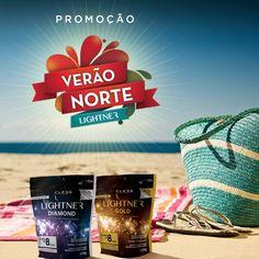 Aqui a gente gosta de ser diferente, gosta de curtir o calor quando o resto do Brasil tá no frio - ou na chuva! É época de ficar loira, de arrasar por aí com os cabelos e pelos descoloridos. É tempo de Lightner! Corra para conferir as ofertas que a marca preparou para você nos principais pontos de venda! A gente também ama o verão do Norte! <3 #LoiroDosSonhos #lightnernonorte