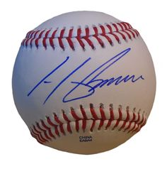 Oakland A's Henderson Alvarez signed Rawlings ROLB leather baseball w/ proof photo.  Proof photo of Henderson signing will be included with your purchase along with a COA issued from Southwestconnection-Memorabilia, guaranteeing the item to pass authentication services from PSA/DNA or JSA. Free USPS shipping. www.AutographedwithProof.com is your one stop for autographed collectibles from Oakland Athletics & MLB teams. Check back with us often, as we are always obtaining new items.