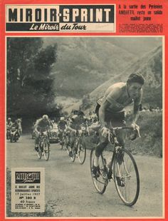 .....Cover Boy - Jacques Anquetil, TdF, 1957!