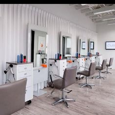 Commercial interior design work... Salon renovation