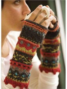 Knit Mittens, Mitten Gloves, Wrist Warmers, Hand Warmers, Knitting Projects, Knitting Patterns, Hat Patterns, Knitting Tutorials, Loom Knitting