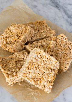 Vegan Rice Crispy Treats | Back to School Vegan Snacks | www.sweetpotatosoul.com
