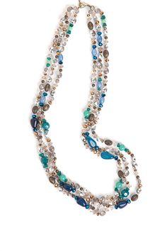 Fashion Accessories - Beaded Strand Necklace - EziBuy New Zealand