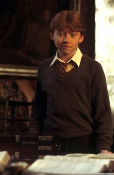 Ron- that sideways smile will be the death of me.