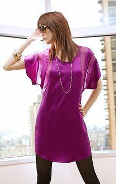 New Sewing Clothes Dresses Simple Tunics Ideas Kimono Diy, Motif Kimono, Kimono Pattern, Sewing Blouses, Sewing Shirts, Diy Dress, Shirt Dress, Robe Diy, Simple Tunic
