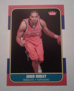 2007-08 FLEER 86 RETRO JARED DUDLEY ROOKIE CARD # 86R-142 #CharlotteBobcats