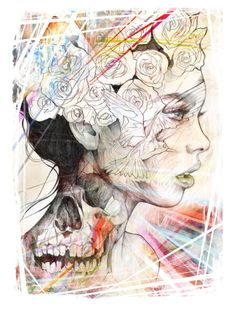 Coloured Sketch | Flickr - Photo Sharing! by Danny O'Connor by Aefio