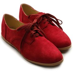 Ollio Women Classic Flat Loafer Lace Up Faux Suede Oxford Shoes (8.5 B(M) US, Red) Ollio,http://www.amazon.com/dp/B00FN0AFCK/ref=cm_sw_r_pi_dp_EAkntb0KNG4JV5MP