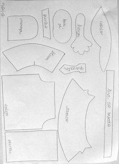 Moldes de Amanda: Fofuchas Parejas y Novios con Moldes (de la web)