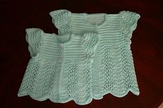 Ravelry: Angel Sweater for Baby pattern by Annie Dempsey