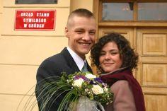 Marcin Mroczek con Katarzyna Cichopek