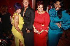 Monifah, Terez, Tamela Mann, and Nicci Gilbert - 2013 Trumpet Awards. #Monifah #MoNation #MonifahFanz