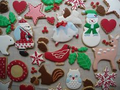 Cookieria By Margaret: Natal na Floresta...Escolhendo os Cookies