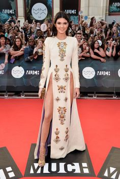 Pin for Later: Kendall Jenner Has Grown Up Before Our Eyes And everything led up to this moment at the MuchMusic Video Awards. Now it's official: Kendall has  outshined her sister Kim Kardashian in the sexiness department. And we bet there's much more to come.