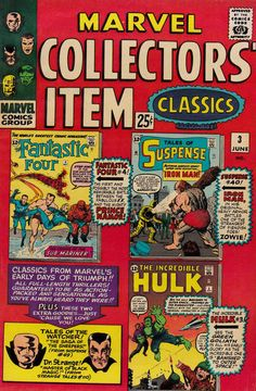 Marvel Collectors' Item Classics (Jun 1965) #3