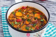 Leczo warzywne przepis | Dorota Kamińska Thai Red Curry, Ethnic Recipes, Food, Essen, Meals, Yemek, Eten