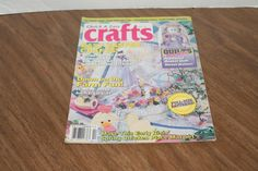Quick & Easy Crafts Magazine April 1993 Easy Easter Crafts Bunny Heart Ornaments
