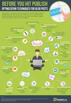 before you hit publish - #Infografica #infographic, statistiche e spunti di riflessione. #diellegrafica
