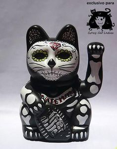 Day of the dead manekineko