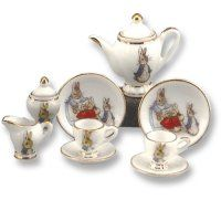 Beatrix Potter Mini Collector Tea Set