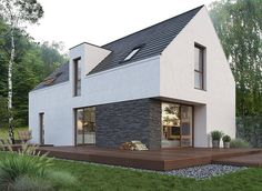 Future House, My House, Benfica Wallpaper, House Designs Ireland, Modern Barn House, Cottage Exterior, Shed Homes, Modern Architecture House, Dream House Plans